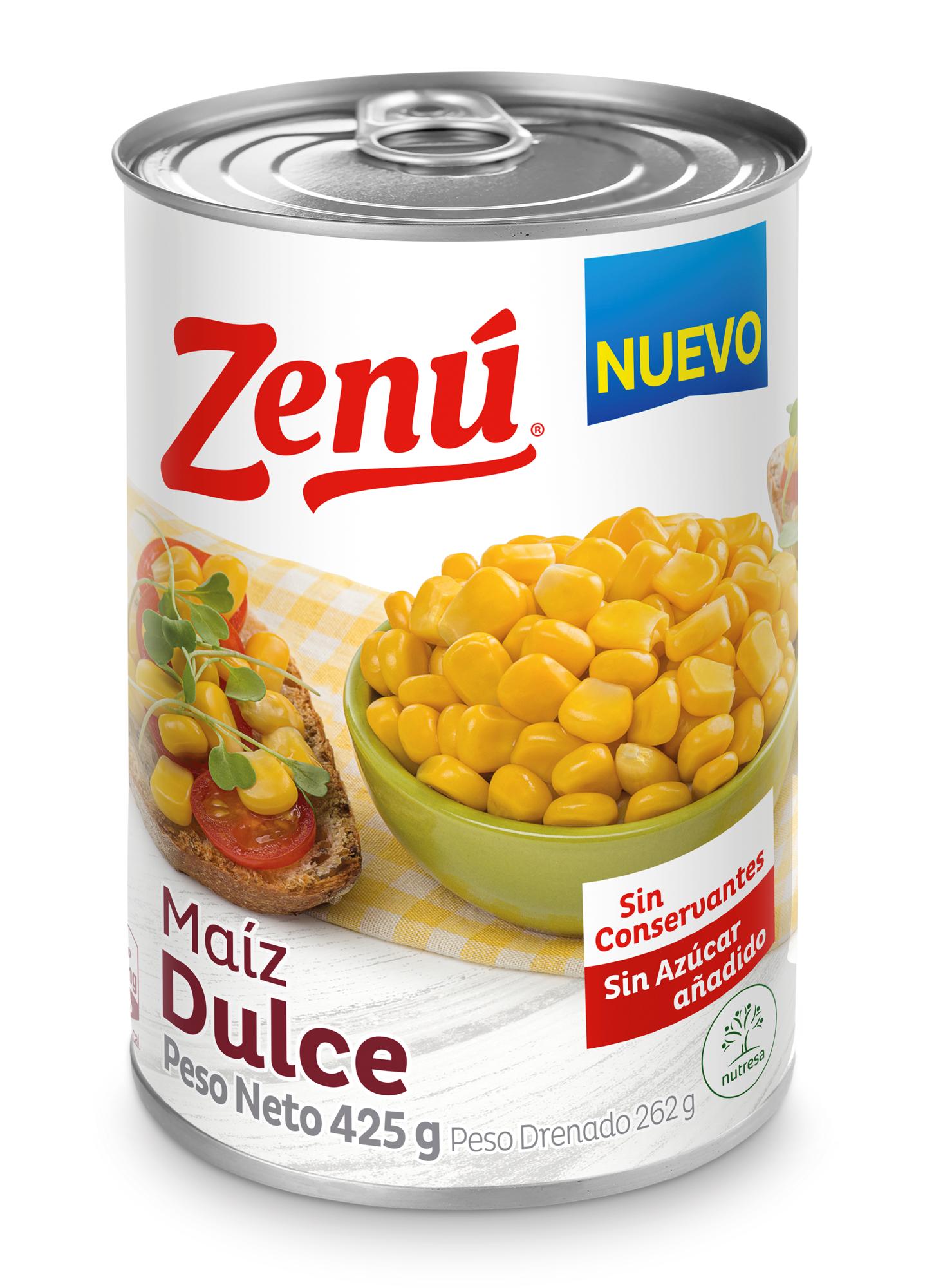 Maiz Dulce Zenu 425g