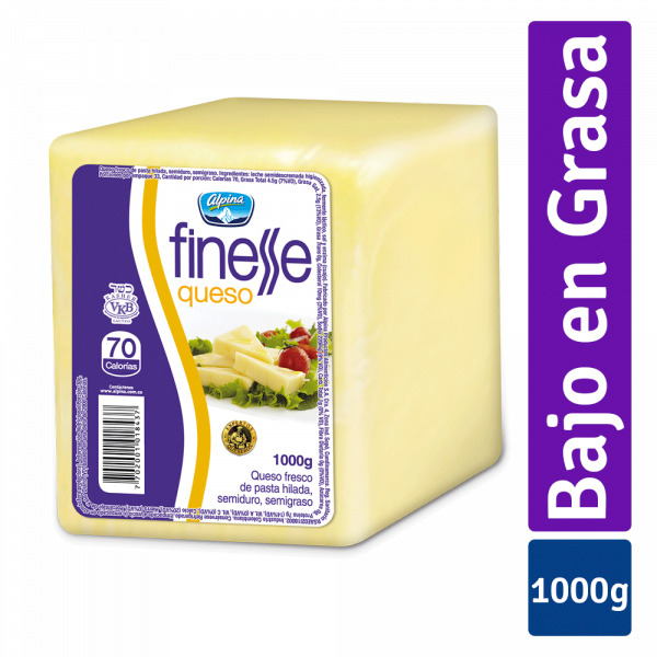 Queso Alpina Finesse Bloque 1kg