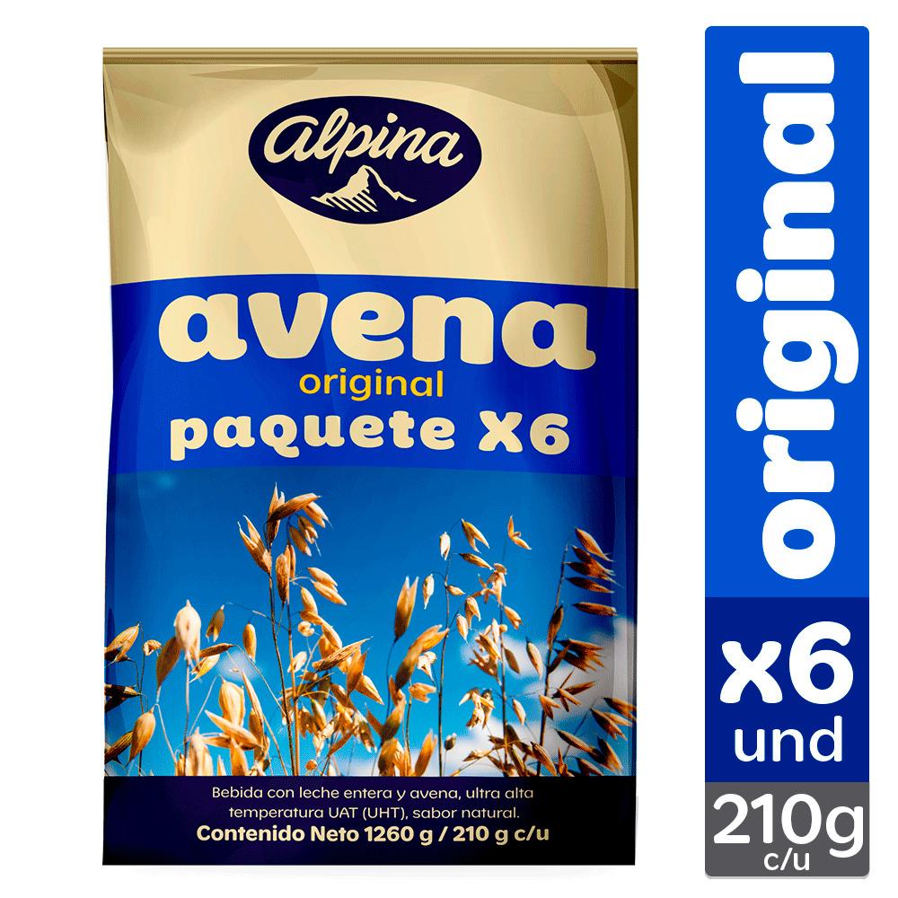 Avena Alpina Bolsa Original 200mlx6u
