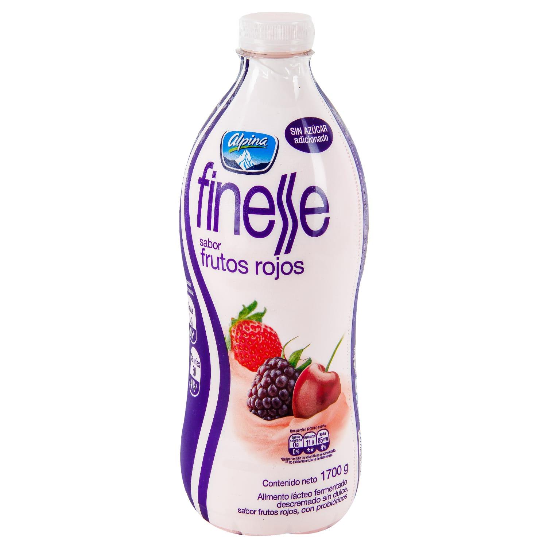 Bebida Láctea Finesse Frutos Rojos 1700g