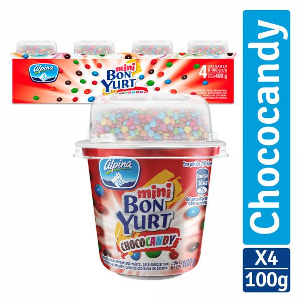 Bebida Láctea Bonyurt Mini 100g x4u