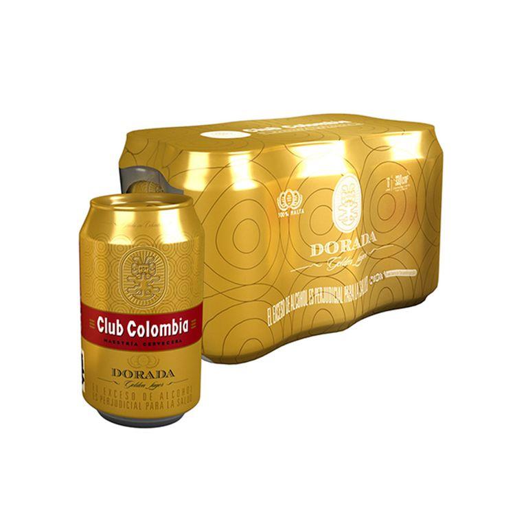 Cerveza Club Colombia Lata 330ml x6