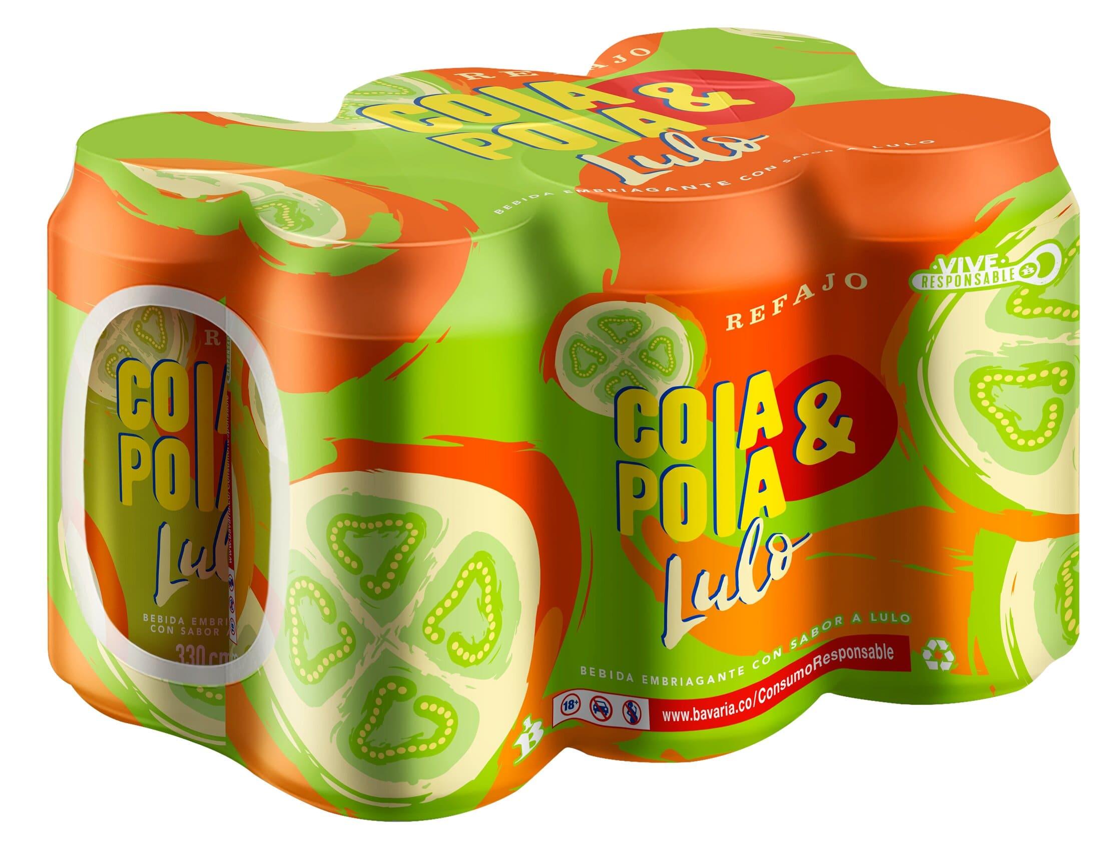Cola y Pola Lulo 330ml x6u
