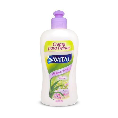 Crema Peinar Savital Keratina y Sábila 275ml