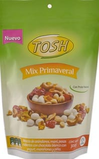 Pasabocas Tosh Primaveral doy 300g