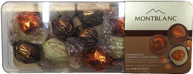 Chocolates Montblanc Estuche X12u 162g