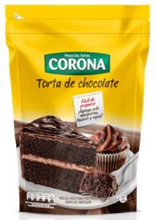 Mezcla Torta Corona Chocolate 450g
