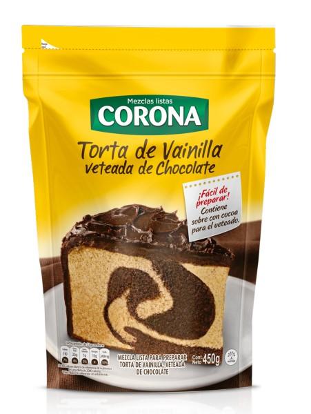 Mezcla Torta Corona Vainilla 450g