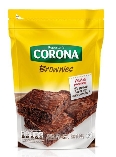 Mezcla Brownies Corona 350g