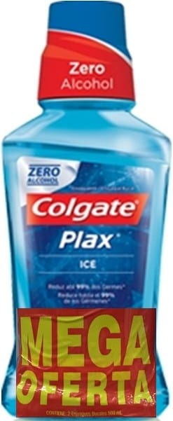 Enjuague Plax ice 500ml x 2und