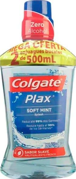 Enjuague Plax Soft Mint 500mlx2 pe