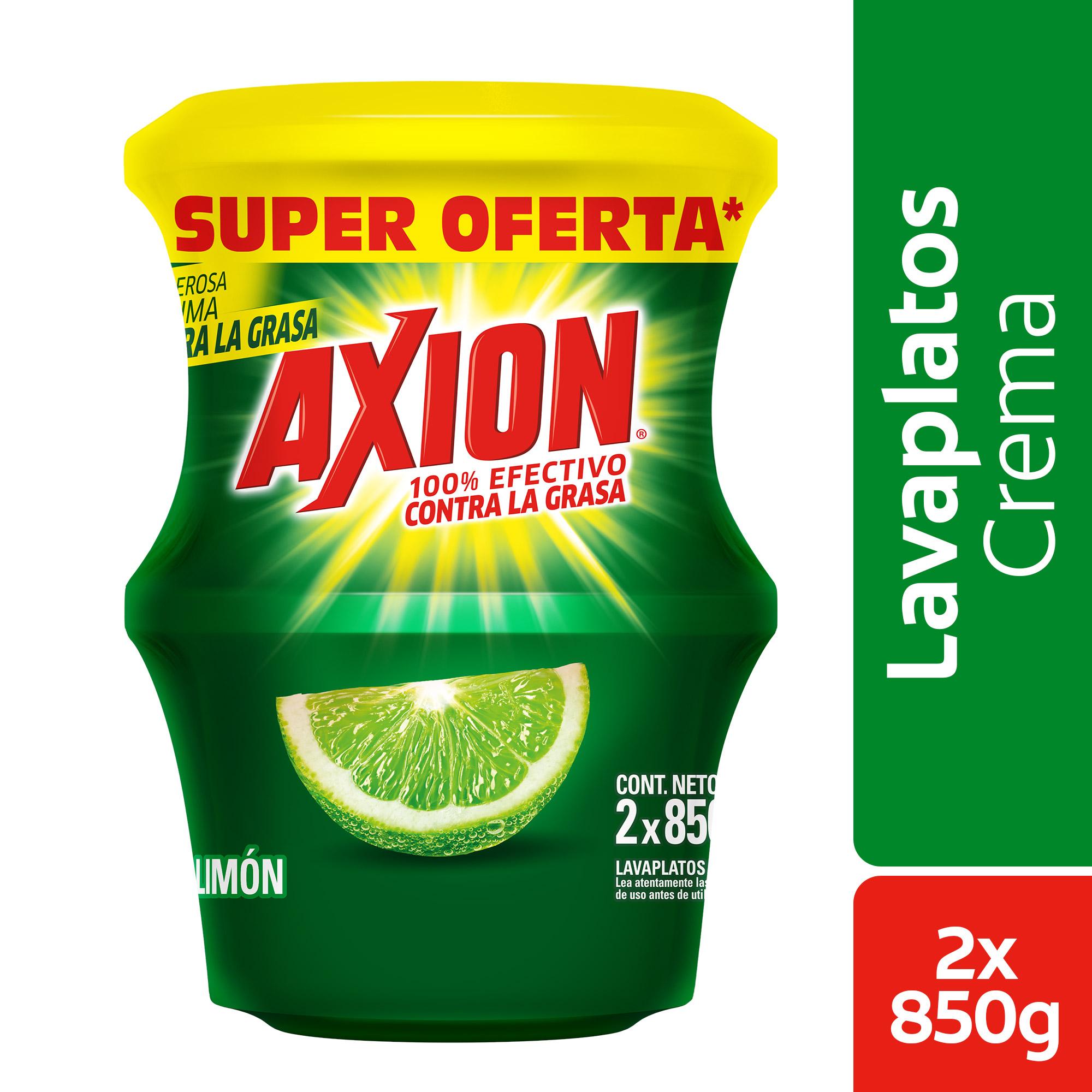Lavaloza Axion Crema Limón 850gx2