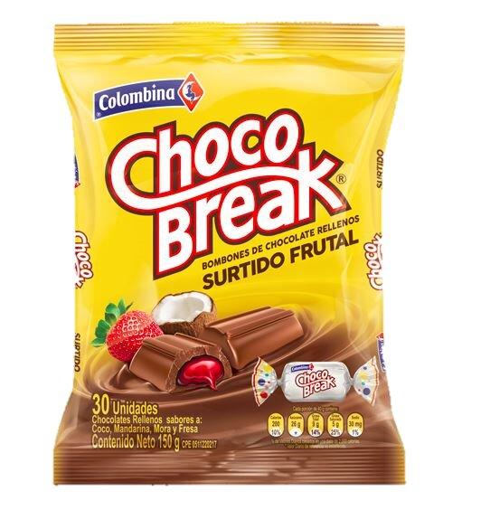 Chocobreak Colombina x50 250g