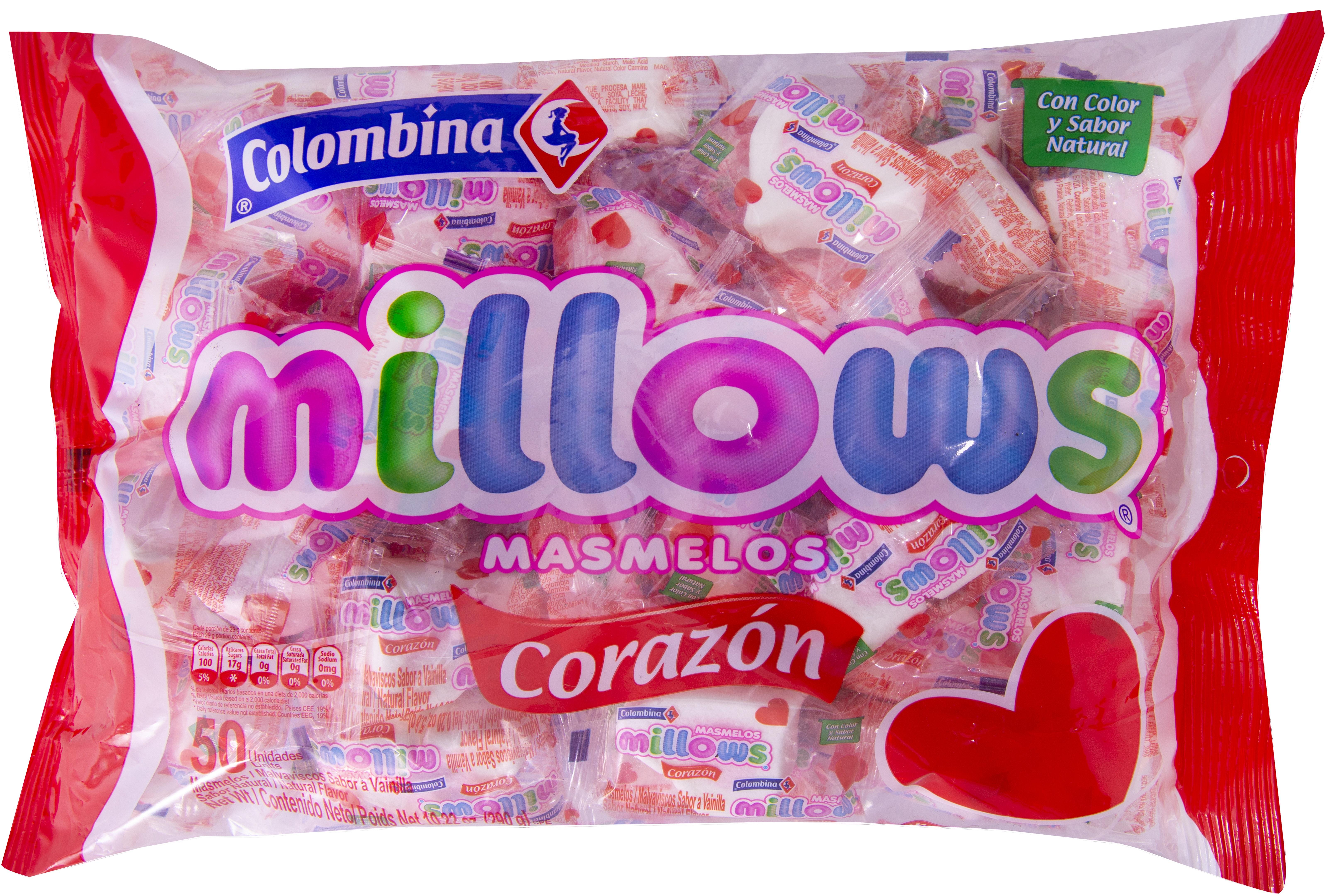Masmelos Millows Corazon x50 290g