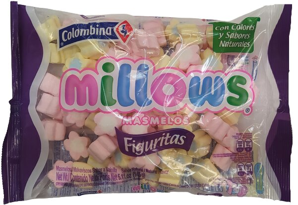 Masmelos Millows Figuritas 145g