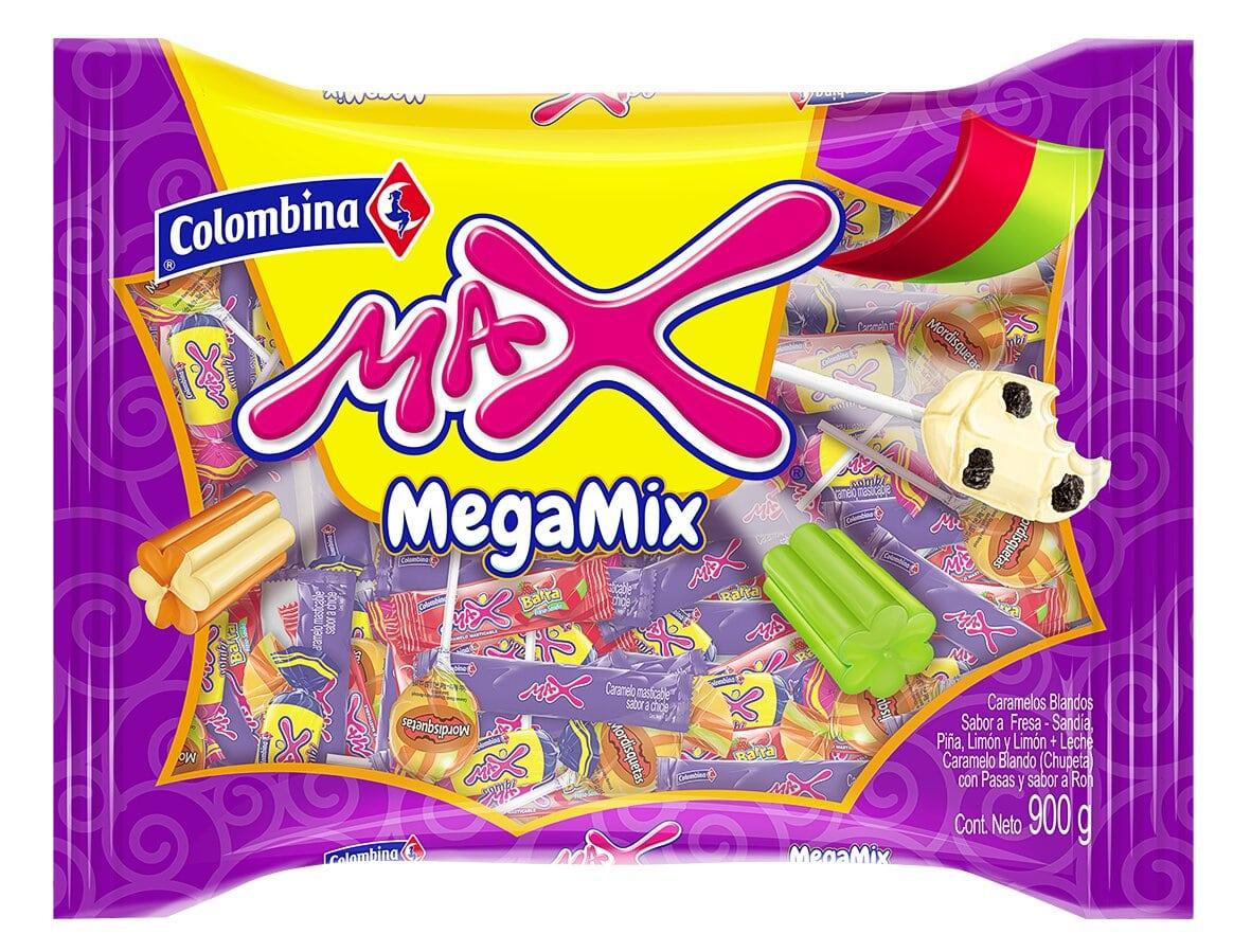 Caramelo max Mega mix 900g