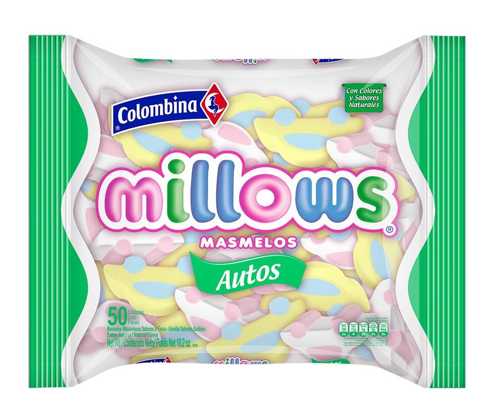 Masmelos Millows Autos 300g