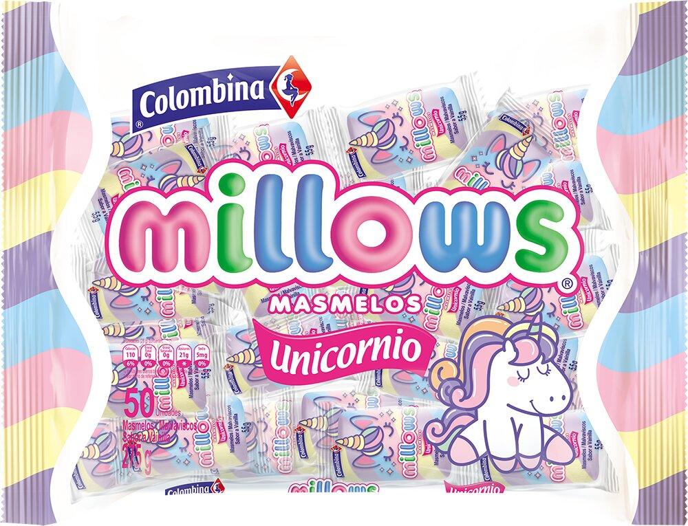 Masmelos Millows Unicornio X50u 275g