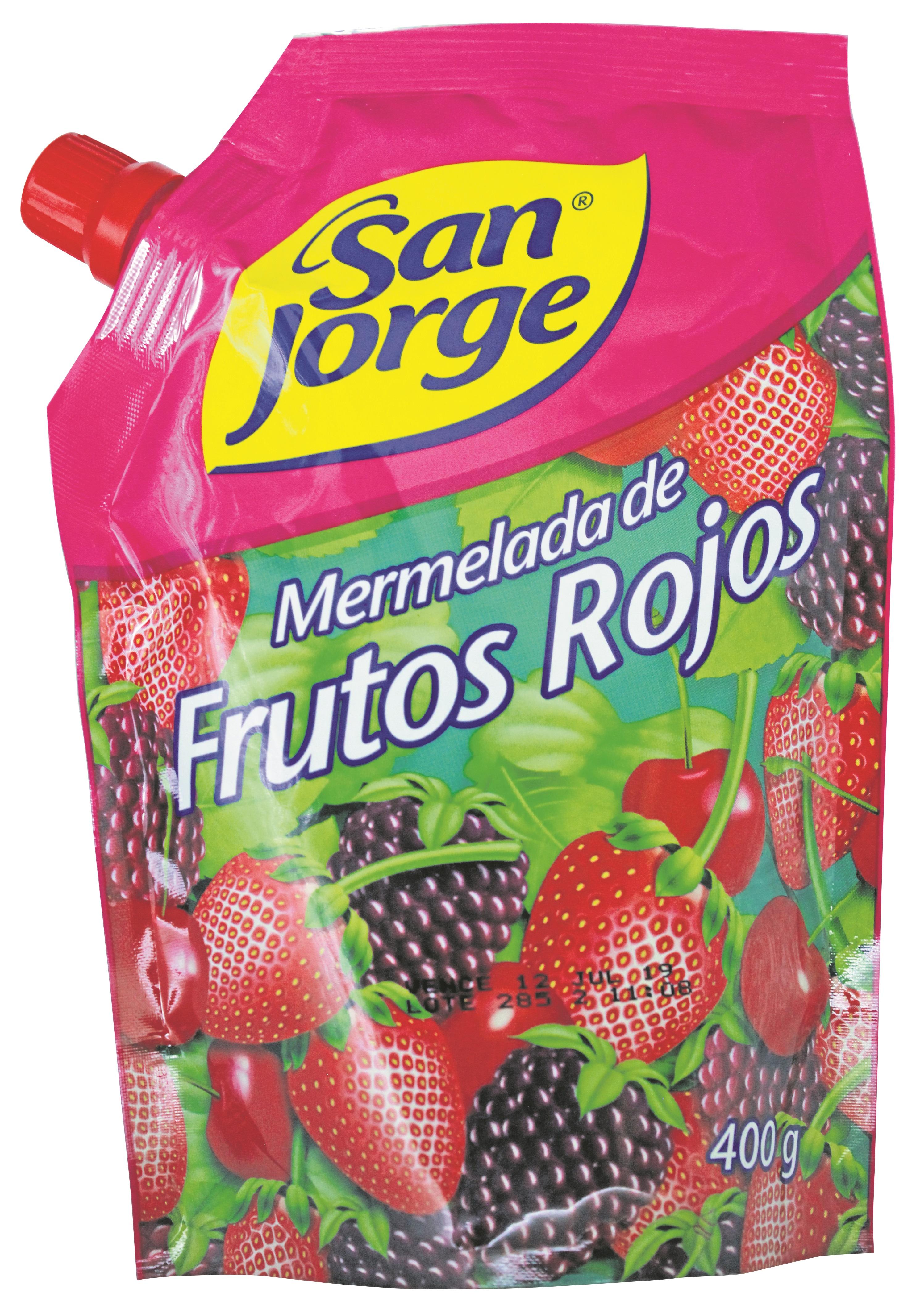 Mermelada Sanjorge Frutos Rojos 400g