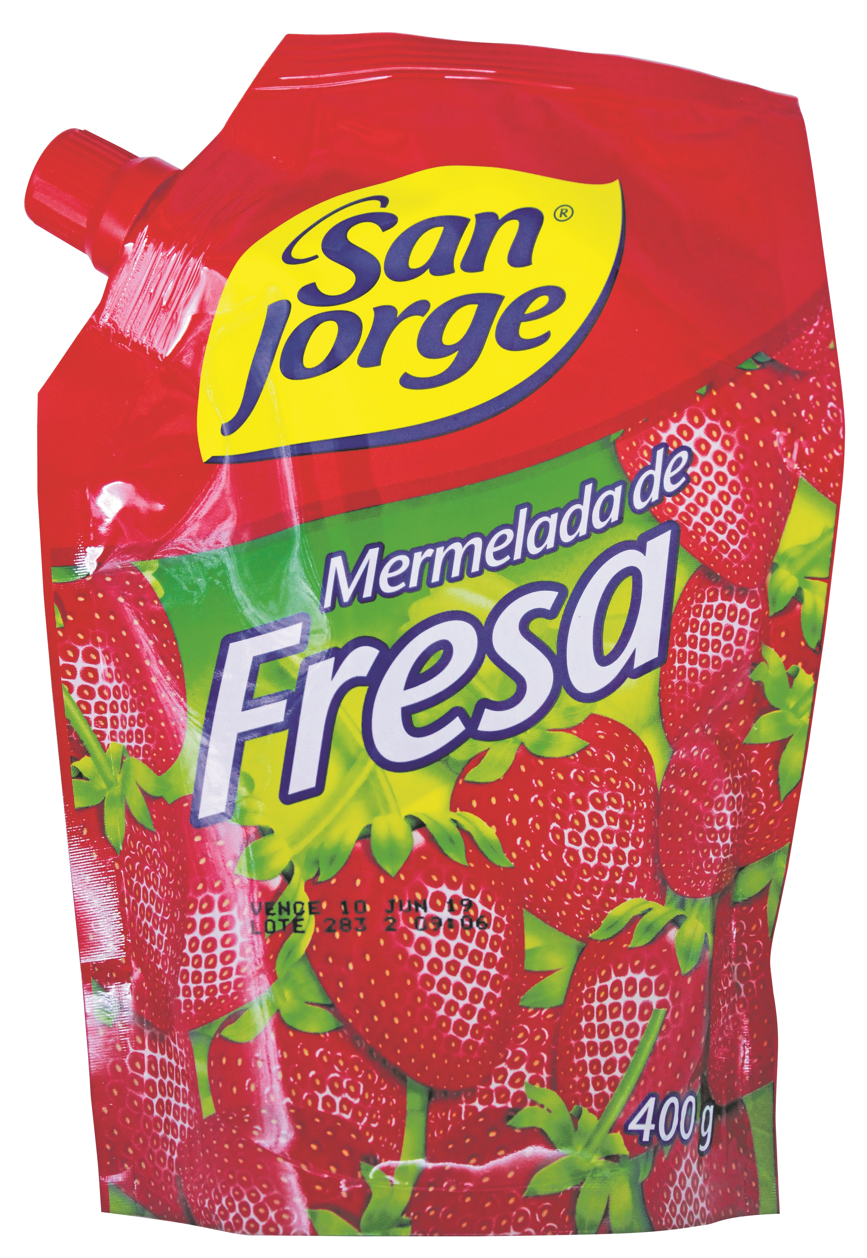 Mermelada Sanjorge Fresa 400g