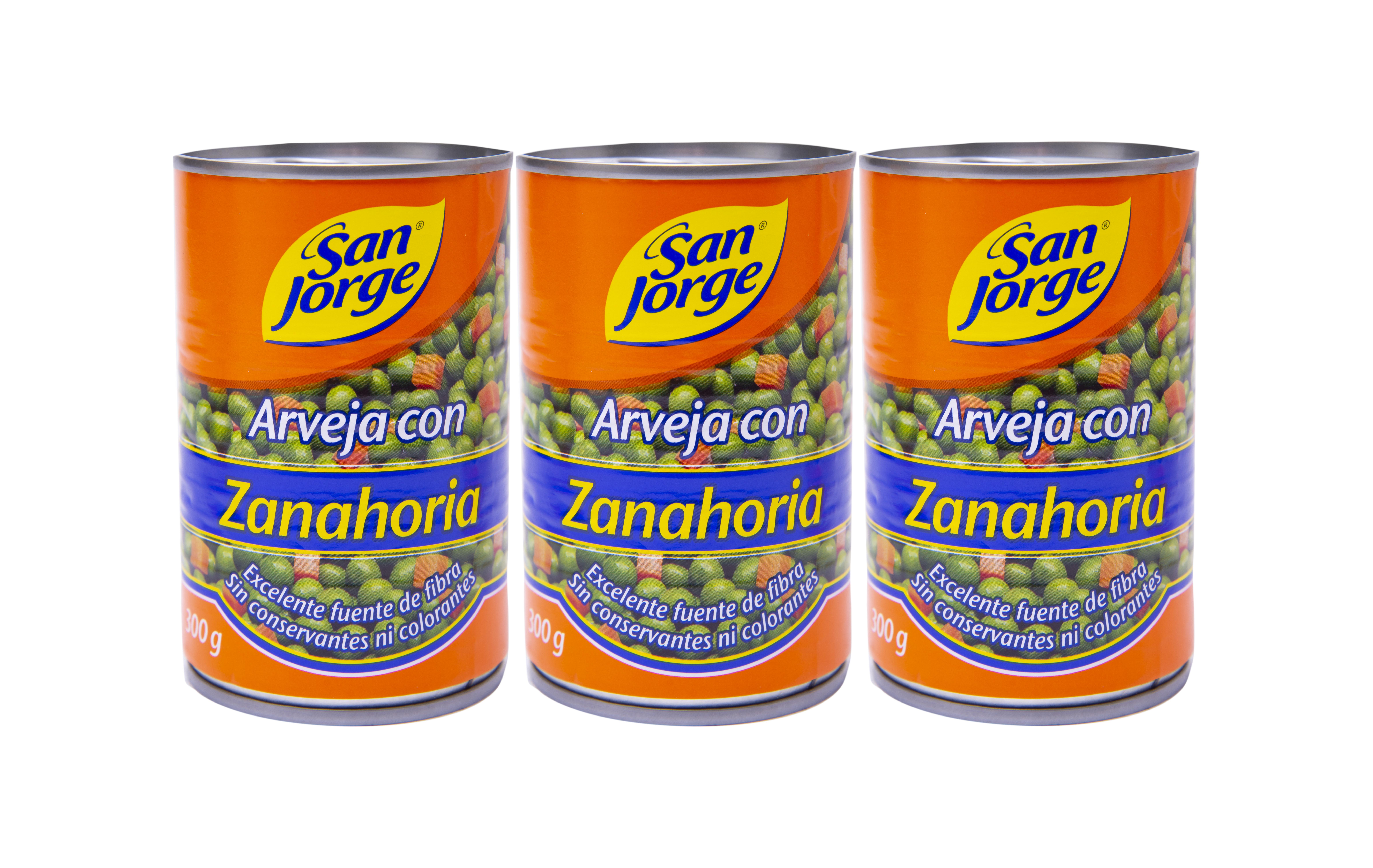 Arveja con Zanahoria Sanjorge 300g x3