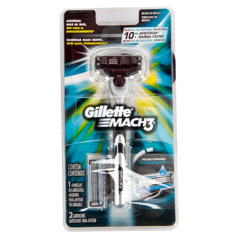 Maquina Gillette Mach3 1 Repuesto