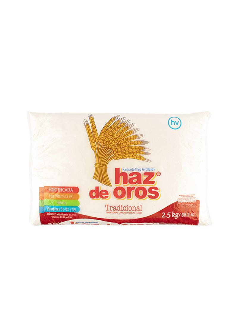 Harina de Trigo haz de Oros 2500g