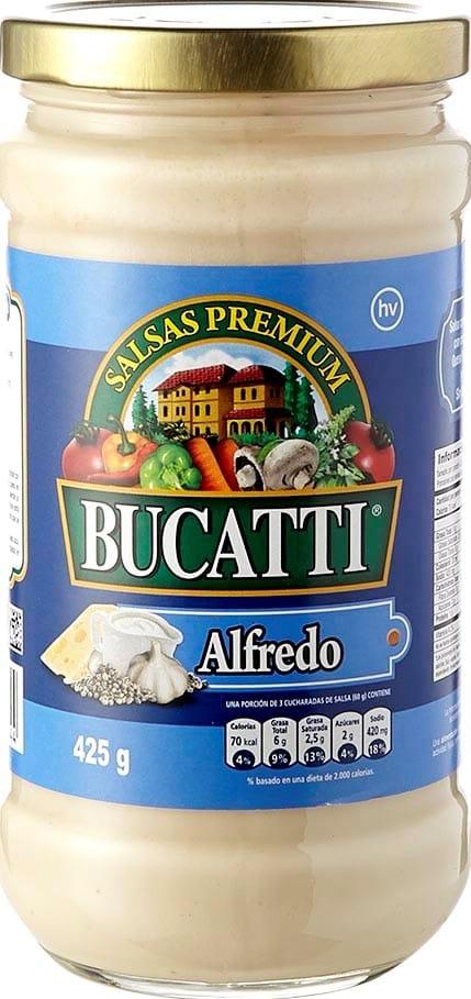Salsa Alfredo Bucatti 425g