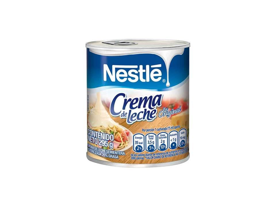 Crema de Leche Nestle Lata 295g