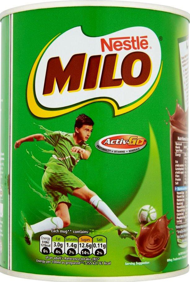 Bebida Chocolate Milo 400g