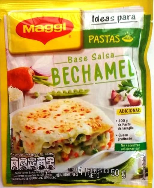 Base Maggi Pasta Bechamel 50g