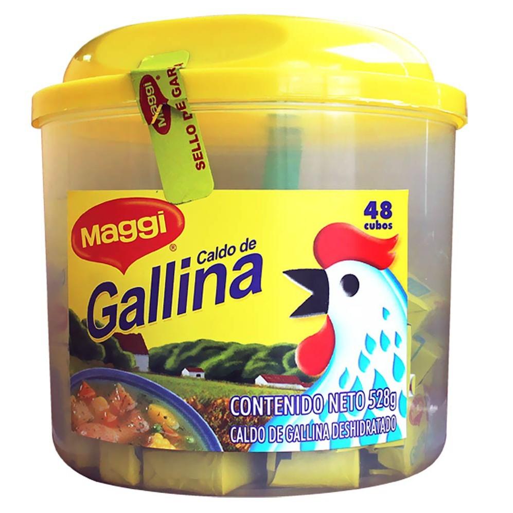 Caldo Gallina Maggi Pote 48 Cubos x1