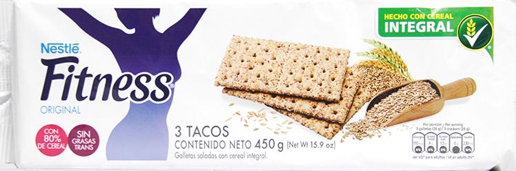 Galletas Fitness Integrales 3 Tacos 450g