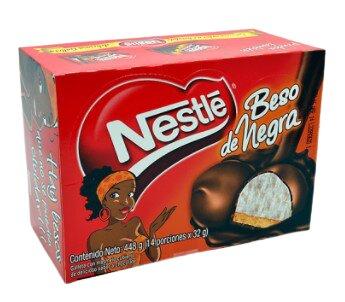 Masmelos Galleta Beso Negra x14 448g