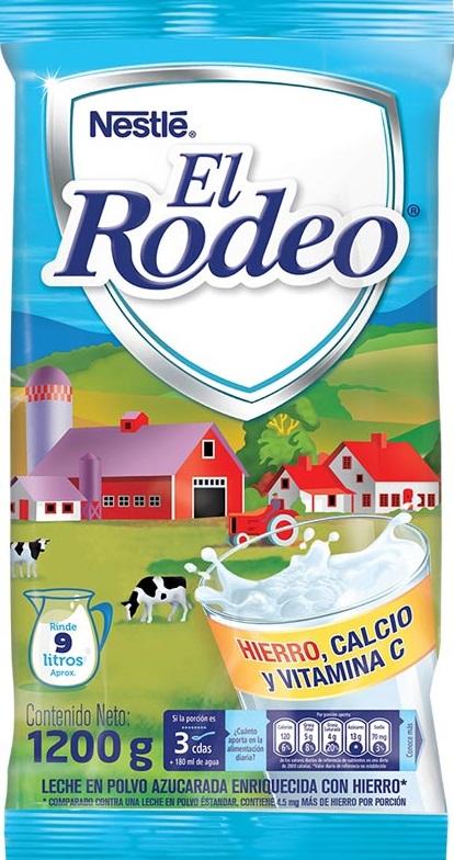 Leche Polvo Rodeo Azucarada 1200g