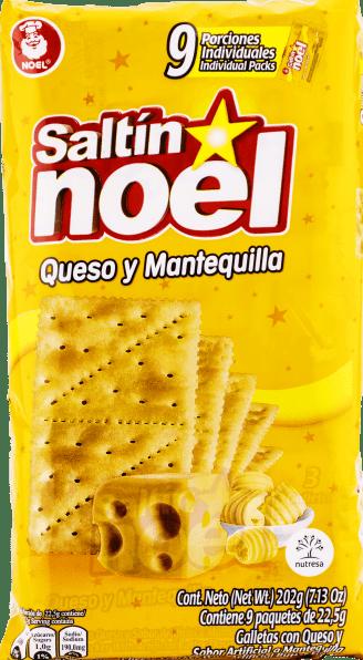 Galletas Saltin Noel Mantequilla x9 202g