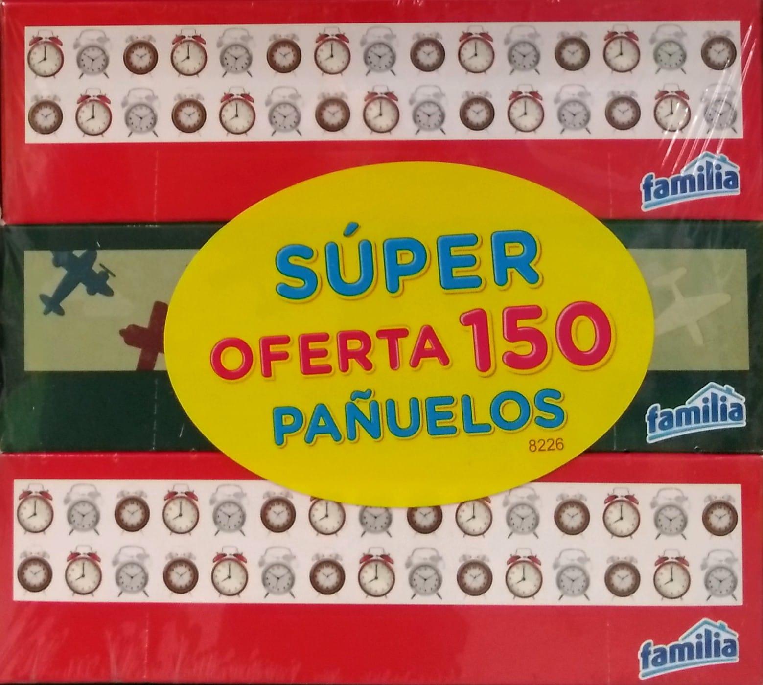 Pañuelos Familia Caja Pequeña 50un x3