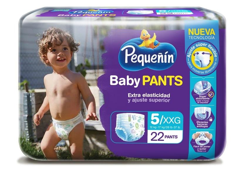 Pañal Pequeñin Baby Pants xxg x 22