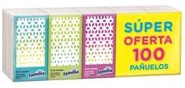 Pañuelo Familia Bolsillo 10u x10