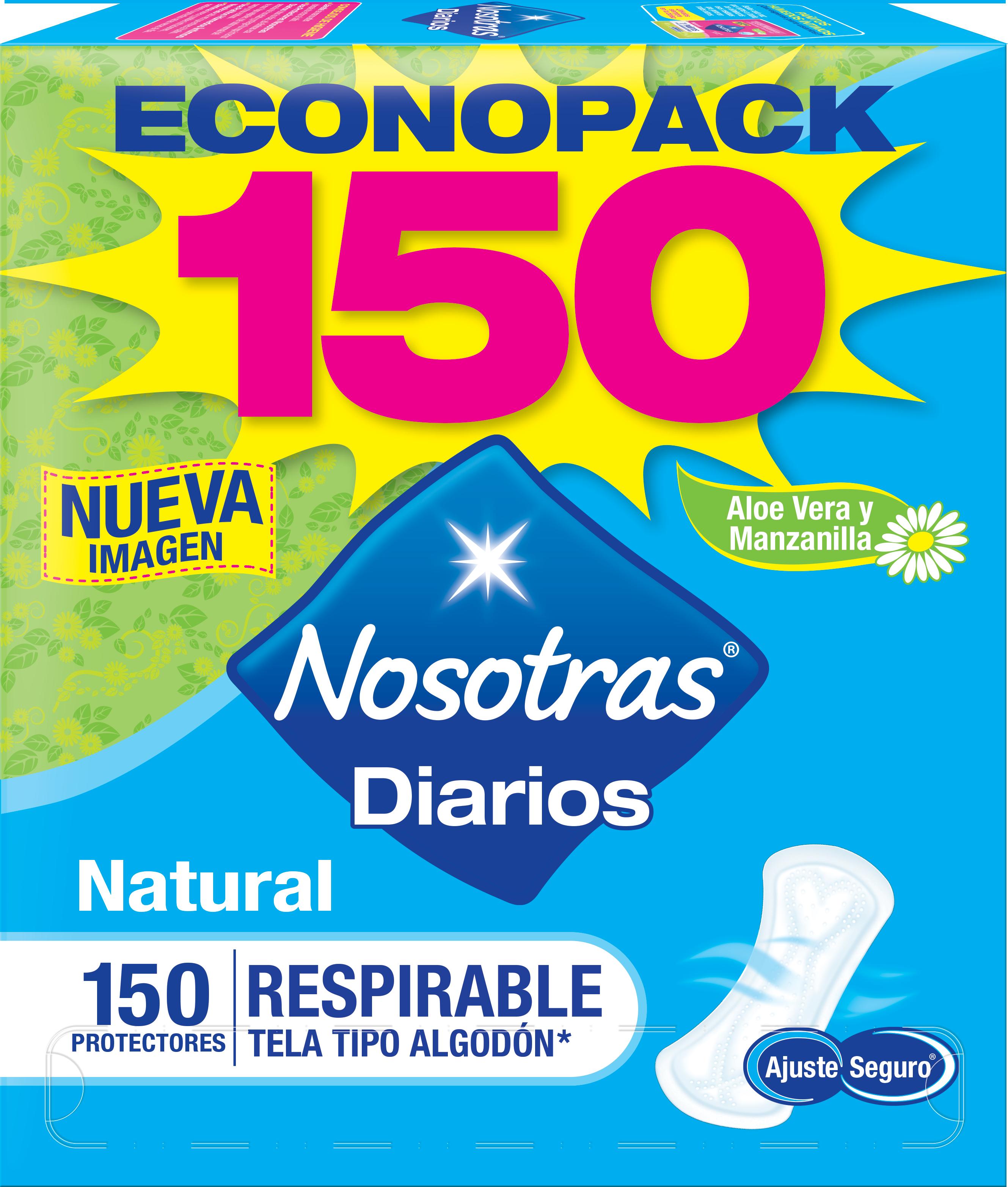 Protectores Nosotras Respirable X150