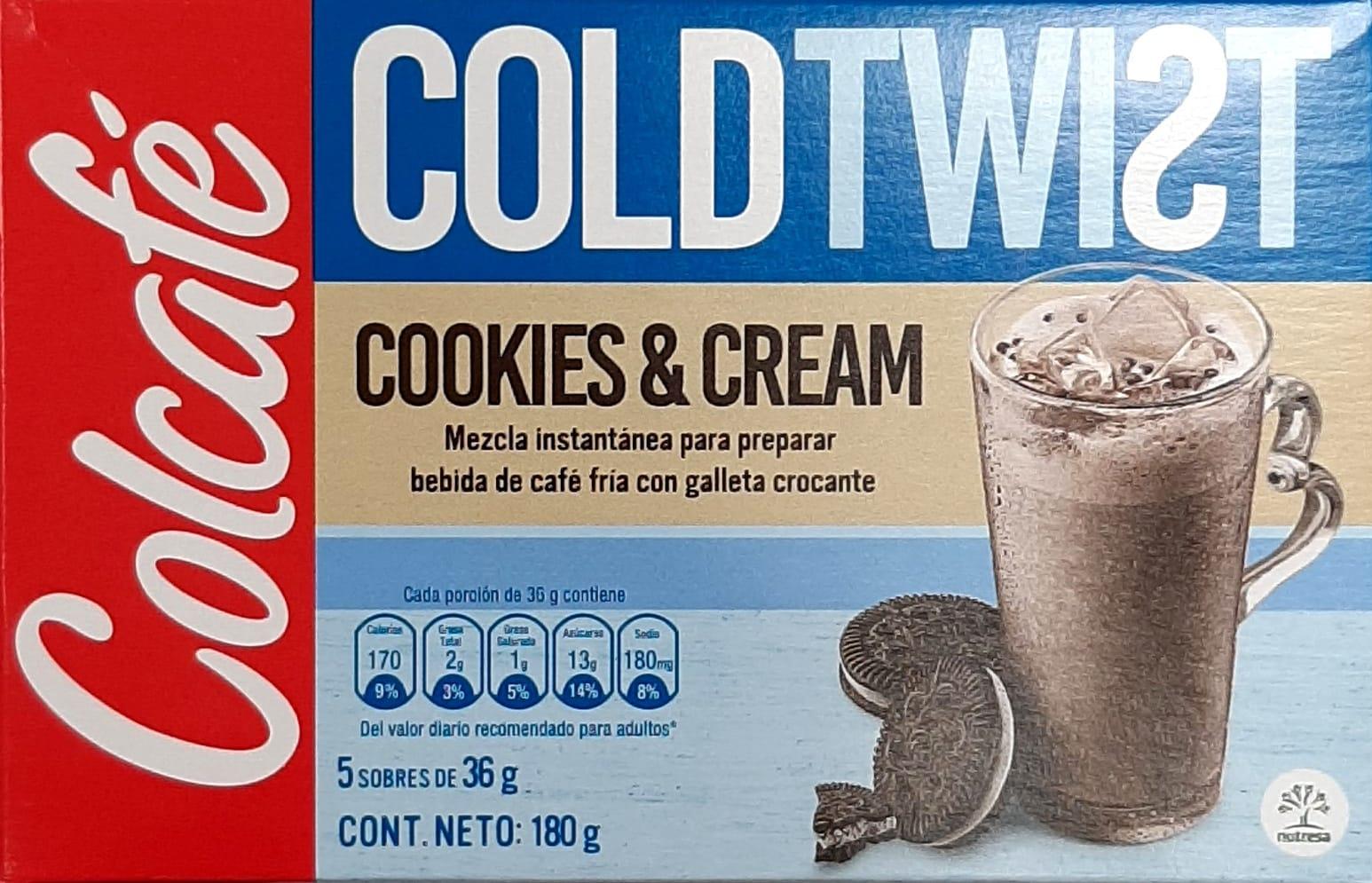 Colcafe Cold Twist Cookies & Cream x5u 180g