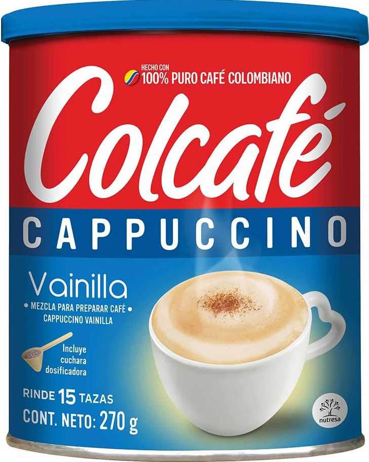 Colcafe Capuccino Vainilla 270g