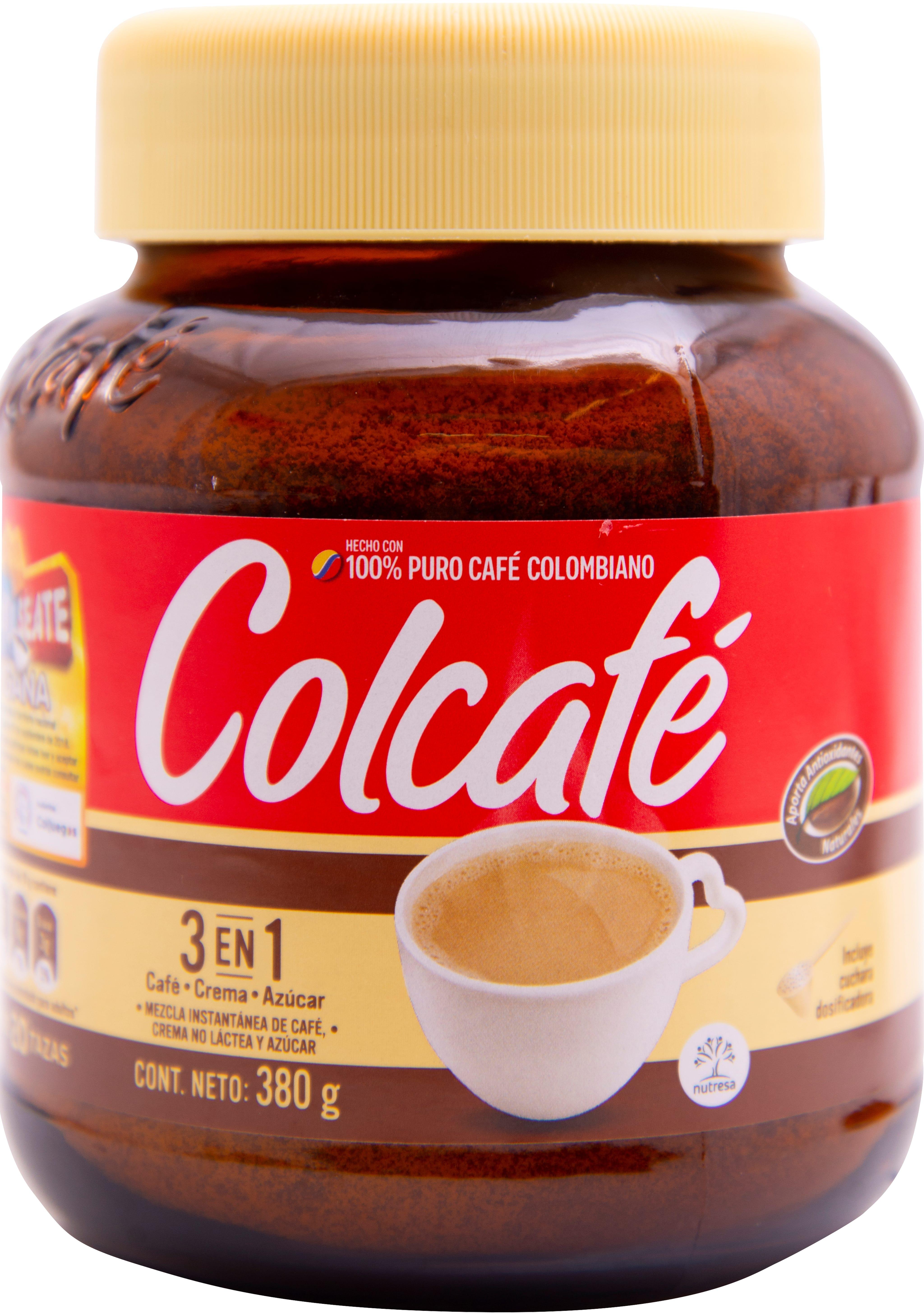 Cafe Instantaneo Colcafe 3en1 380g