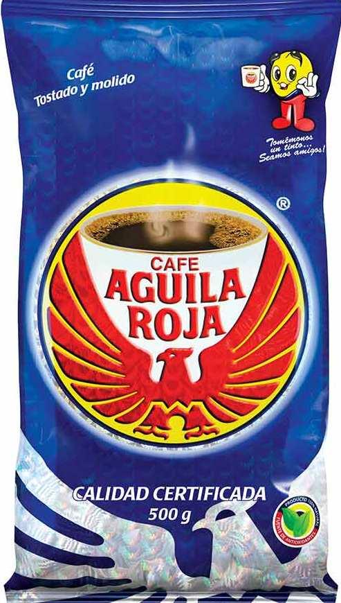 Cafe Aguila Roja 500g x3