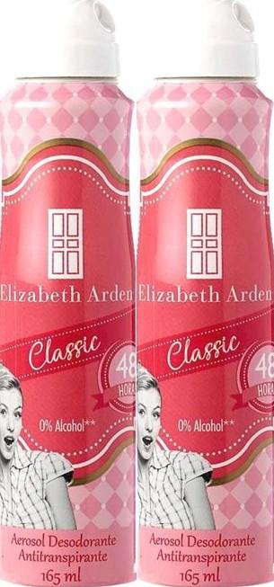Desodorante Aerosol Elizabeth Arden 165mlx2