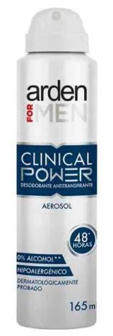 Desodorante Aerosol Arden Clinical Power X165ml