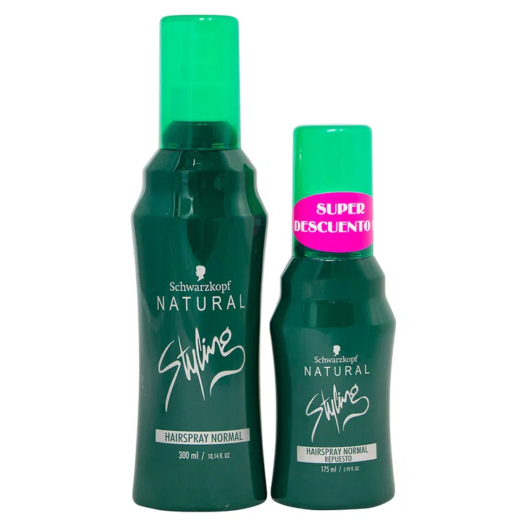 Laca Natural Styling Normal 300ml 175ml