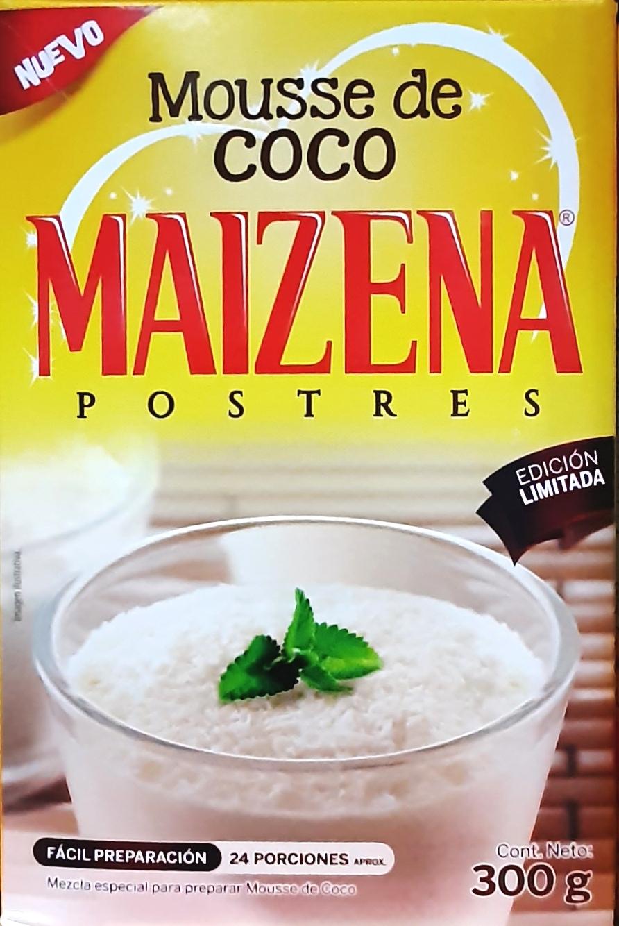 Postre Maizena Mousse de Coco 300g