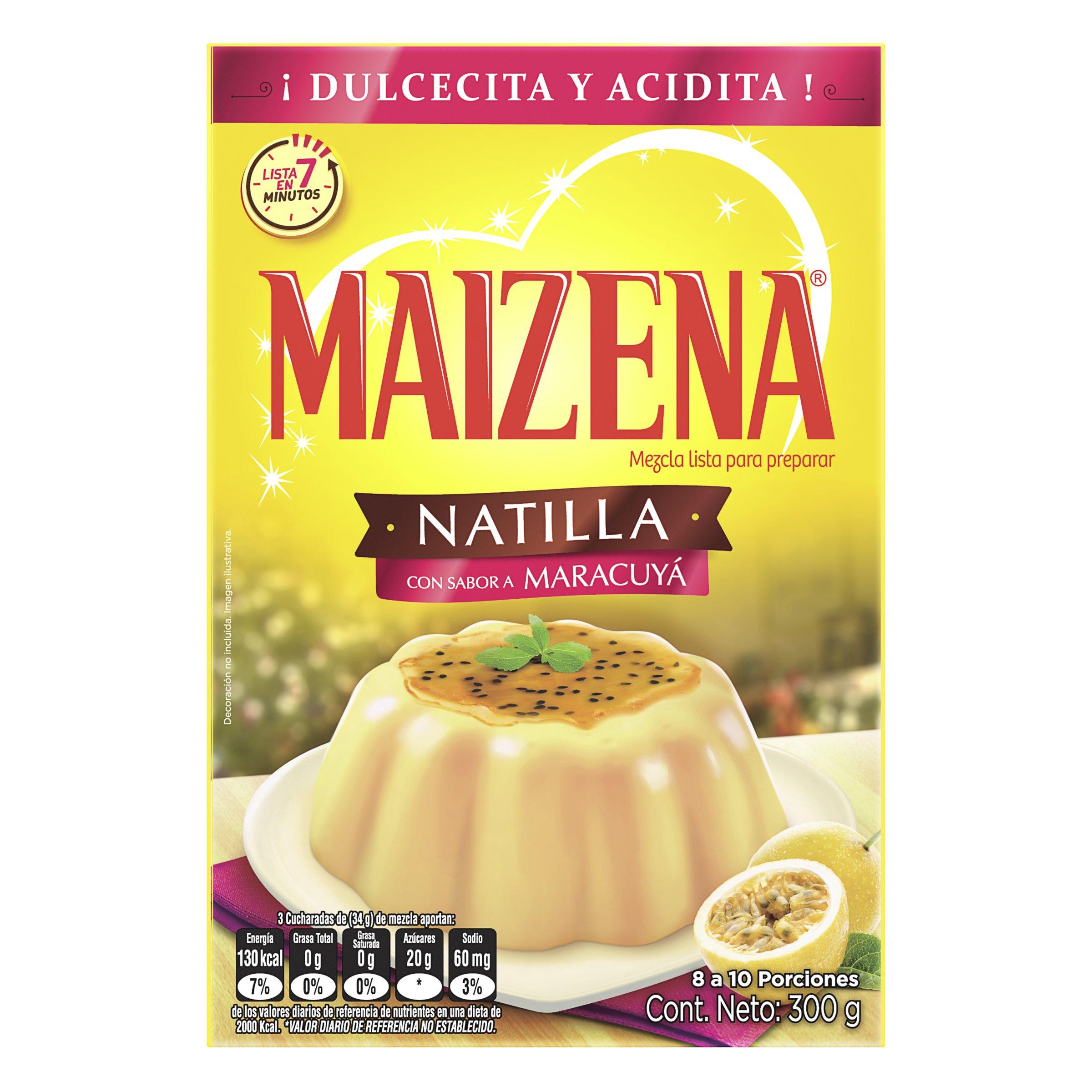 Mezcla Natilla Maizena Maracuya 300g