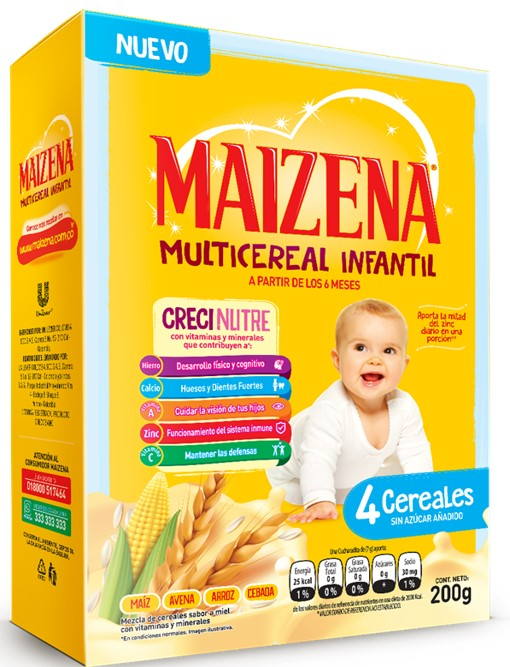 Multicereal Maizena 4 Cereales 200g